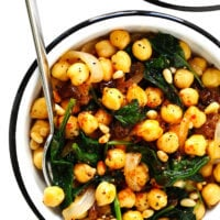 Catalan Chickpeas and Spinach