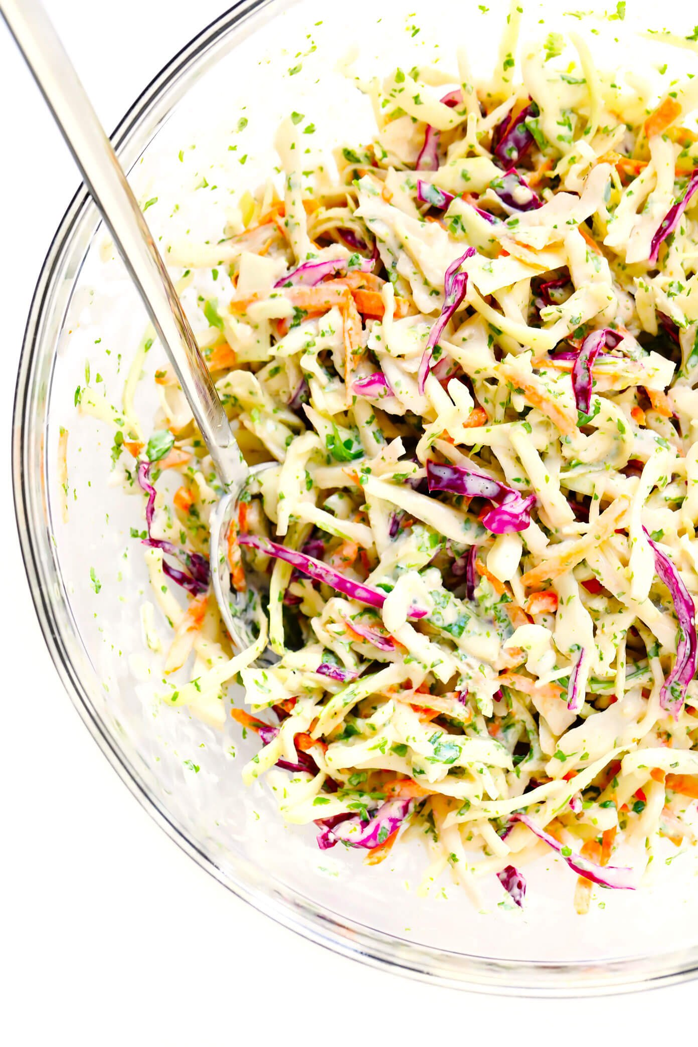 Easy Coleslaw Recipe with Cilantro and Lime