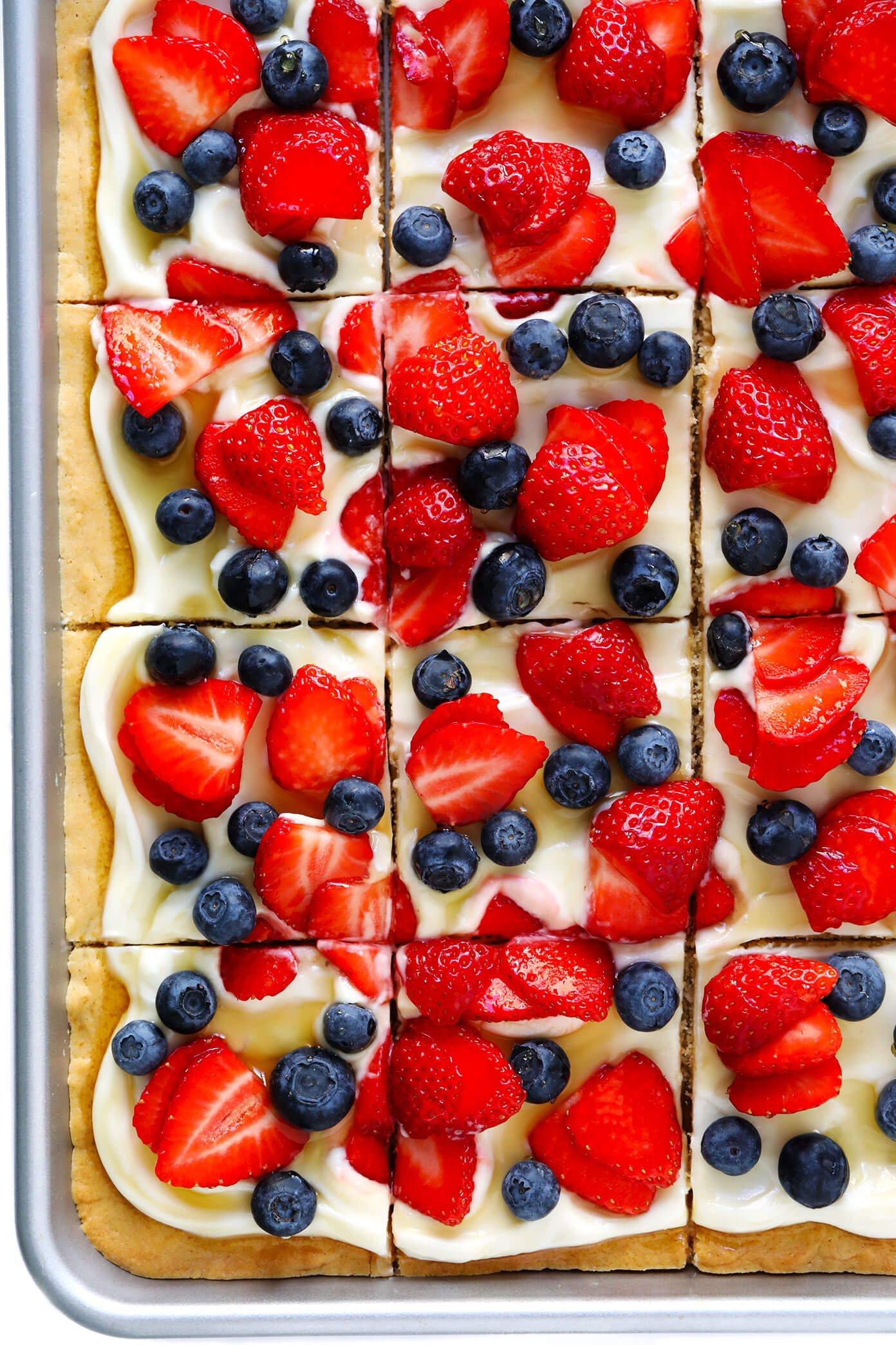Easy Fruit Pizza Recipe