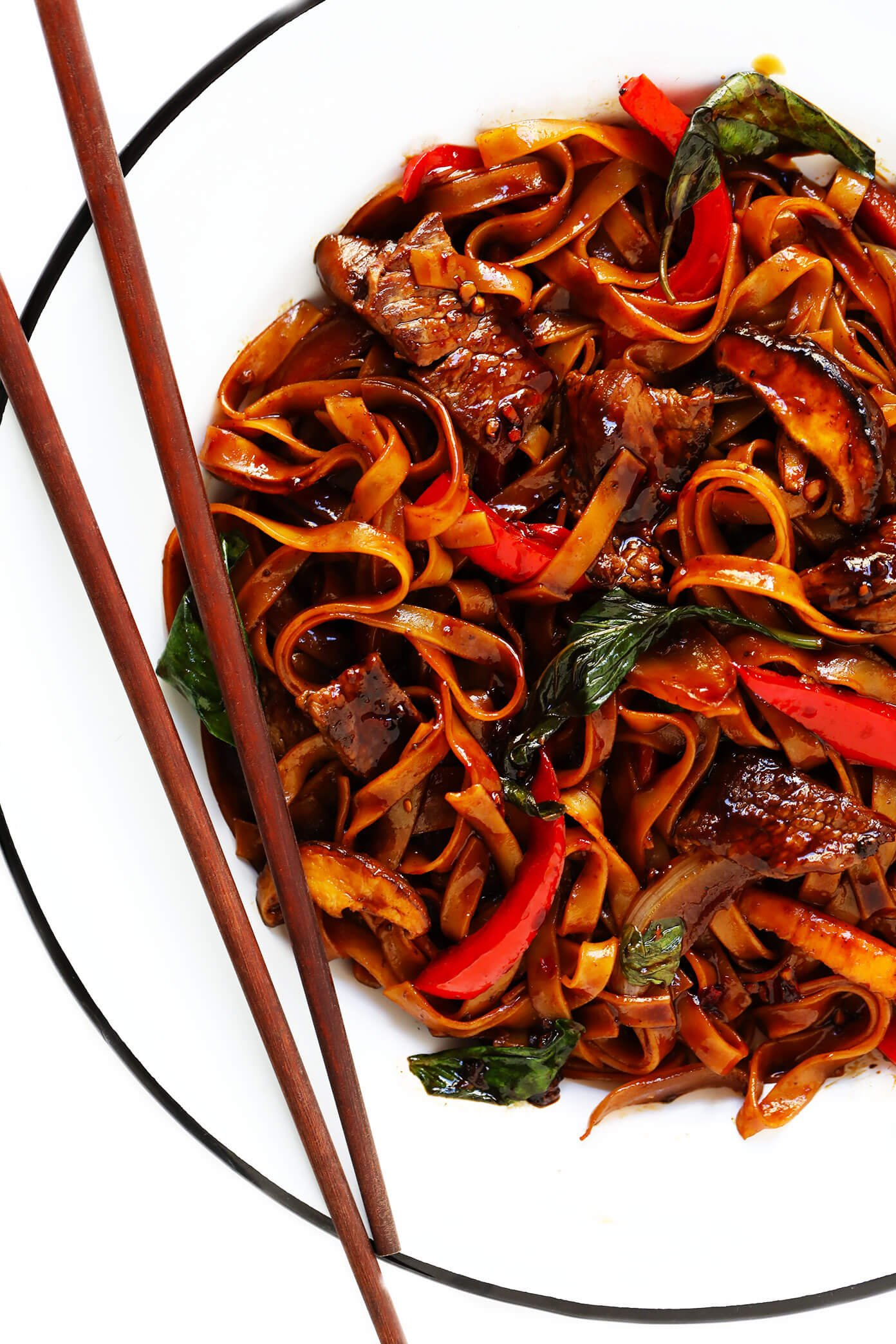 Thai Beef Noodle Stir-Fry | Drunken Noodles