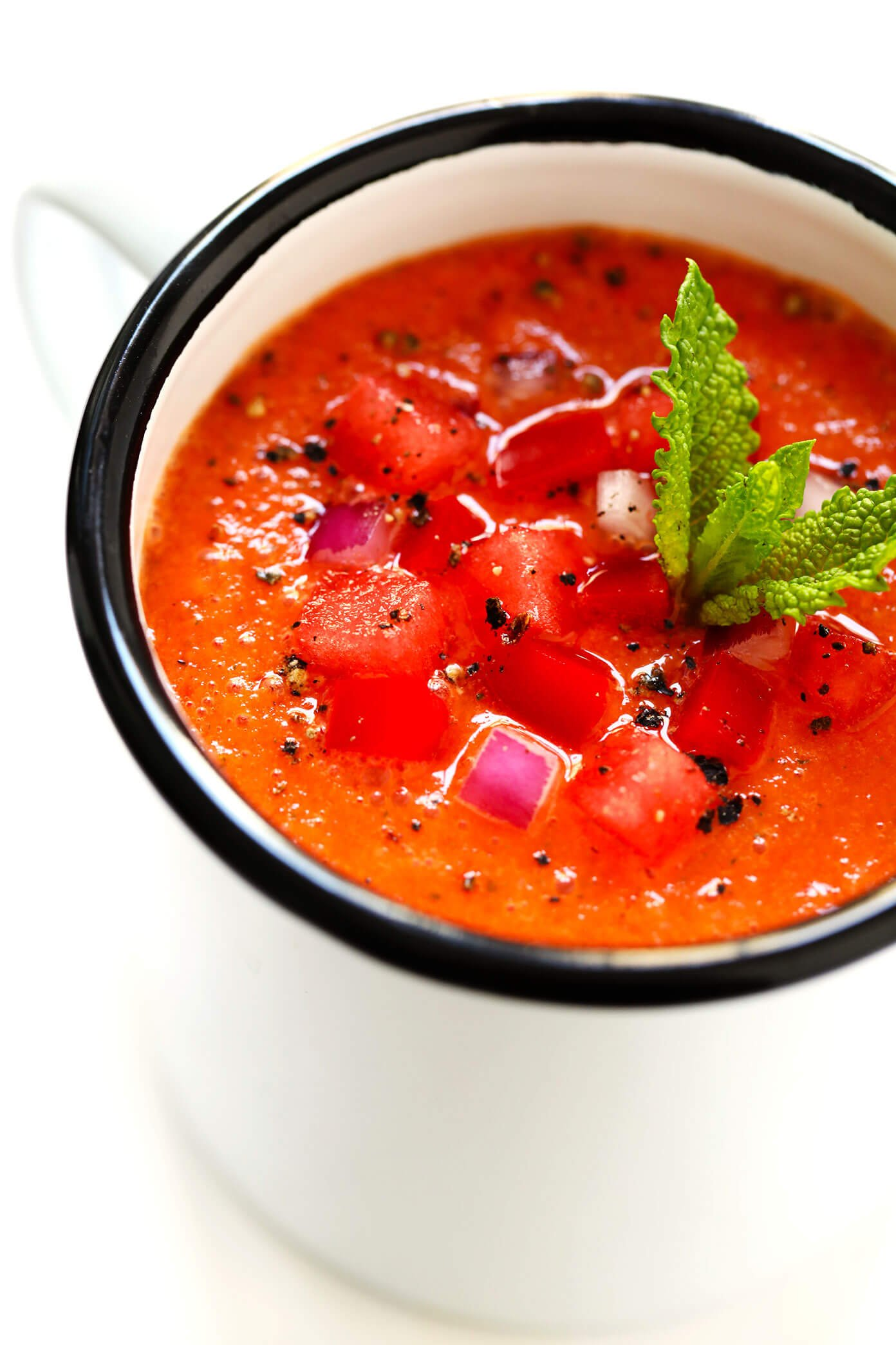 How To Make Gazpacho with Watermelon