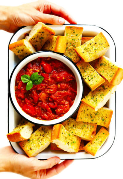 5-Ingredient Burst Tomato Spread