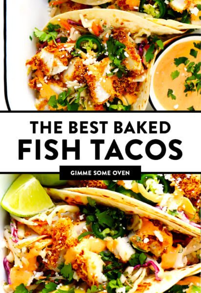 Crispy Baked Fish Tacos Recipe