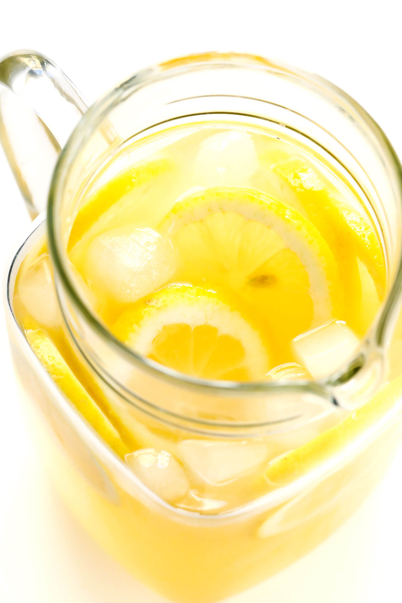 Homemade Lemonade Pitcher
