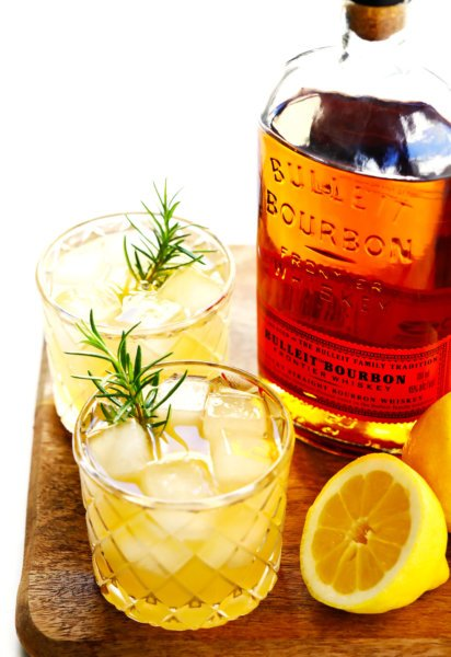 Whiskey Lemonade Cocktail