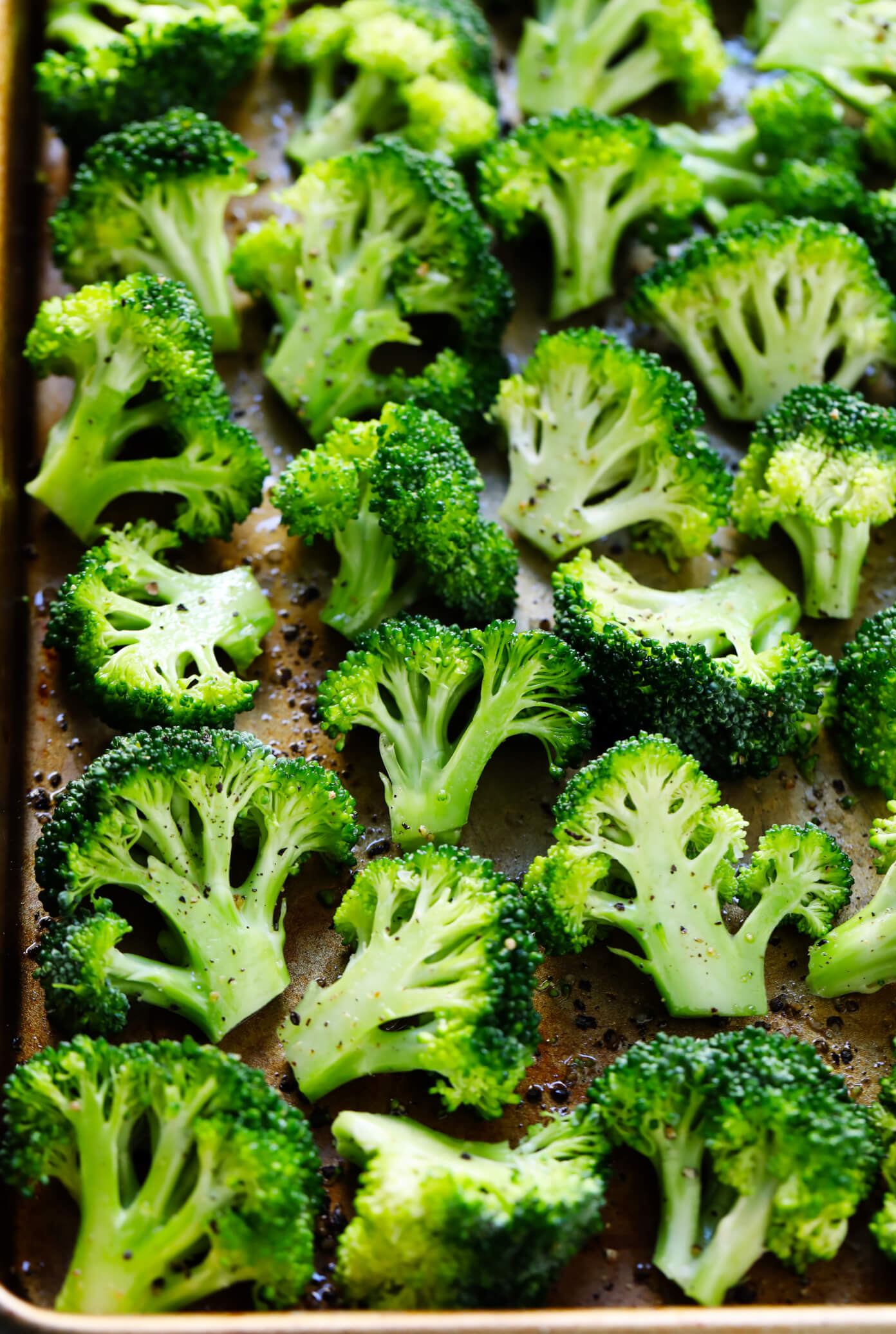 Raw Broccoli Florets