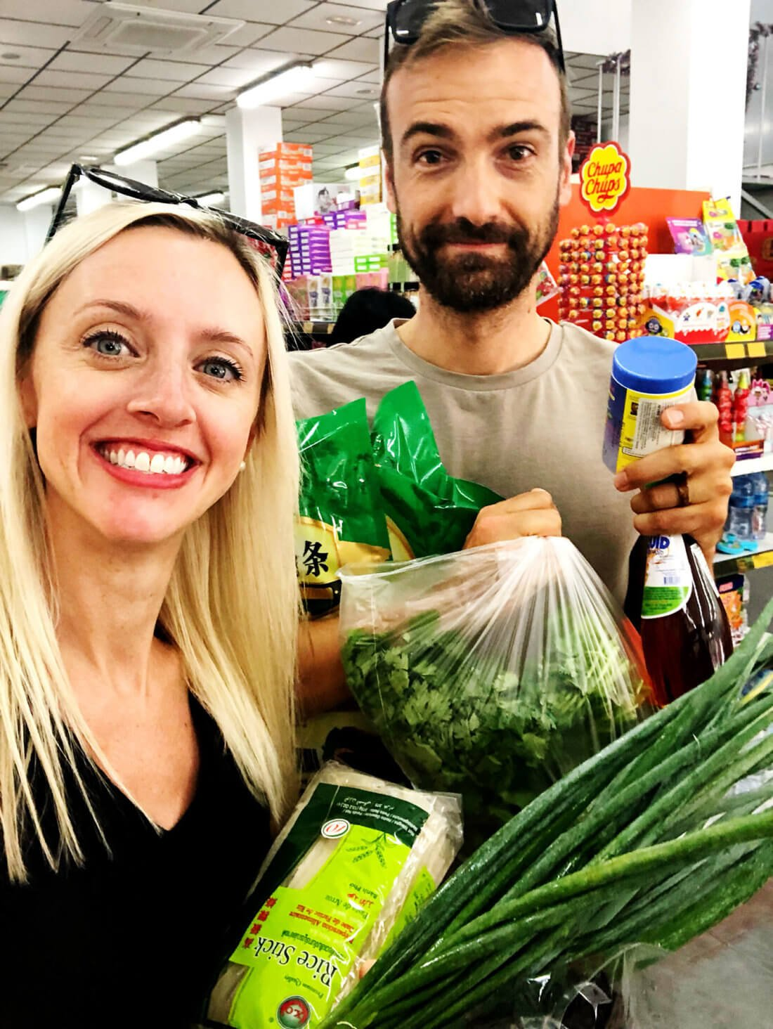 Grocery shopping date