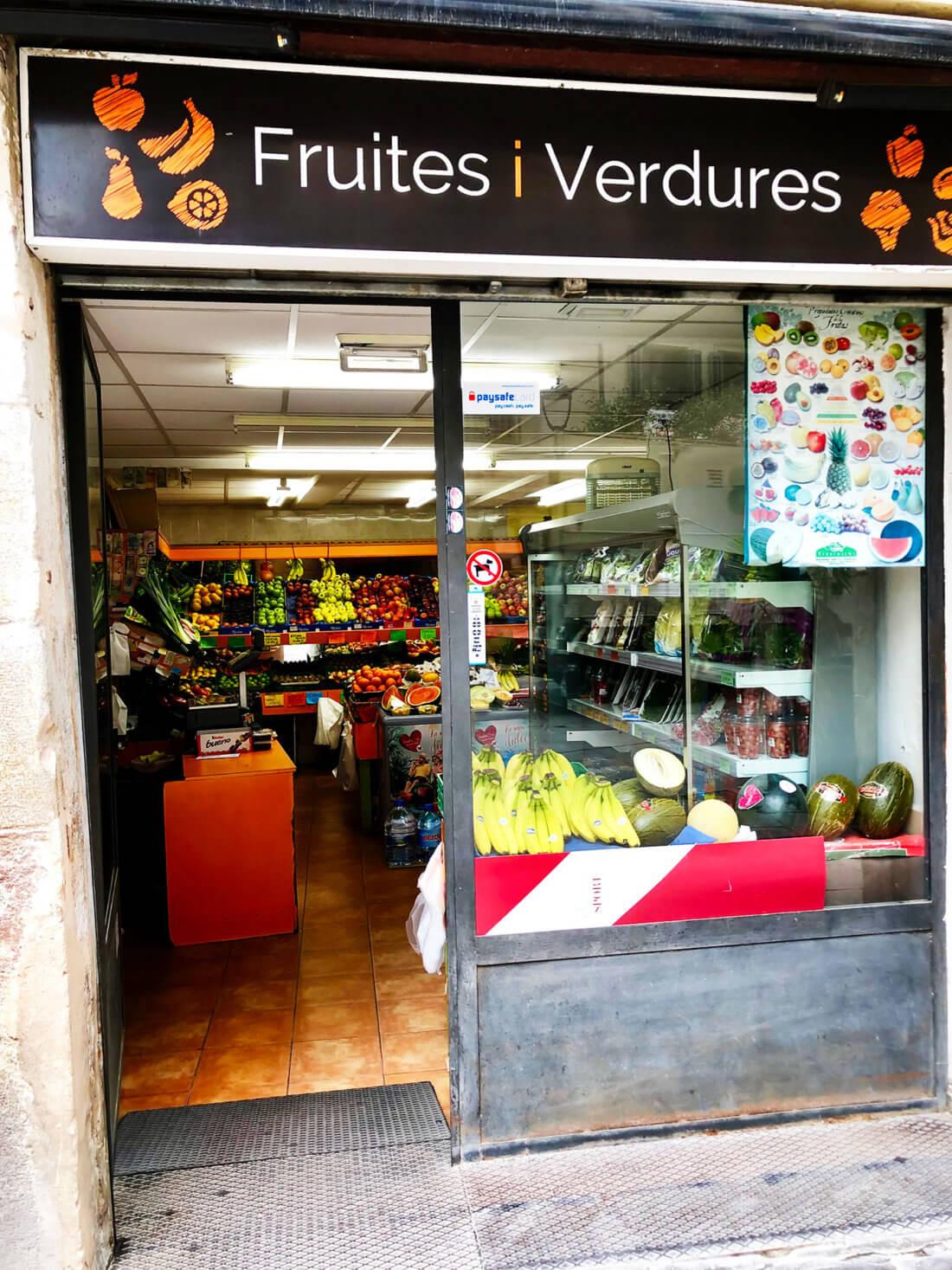 Fruiteria Barcelona