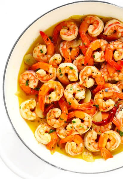 Gambas Al Ajillo Recipe (Spanish Garlic Shrimp)