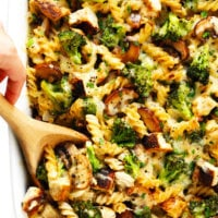 Healthier Broccoli Chicken Casserole