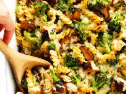 Healthier Broccoli Chicken Casserole Recipe Gimme Some Oven