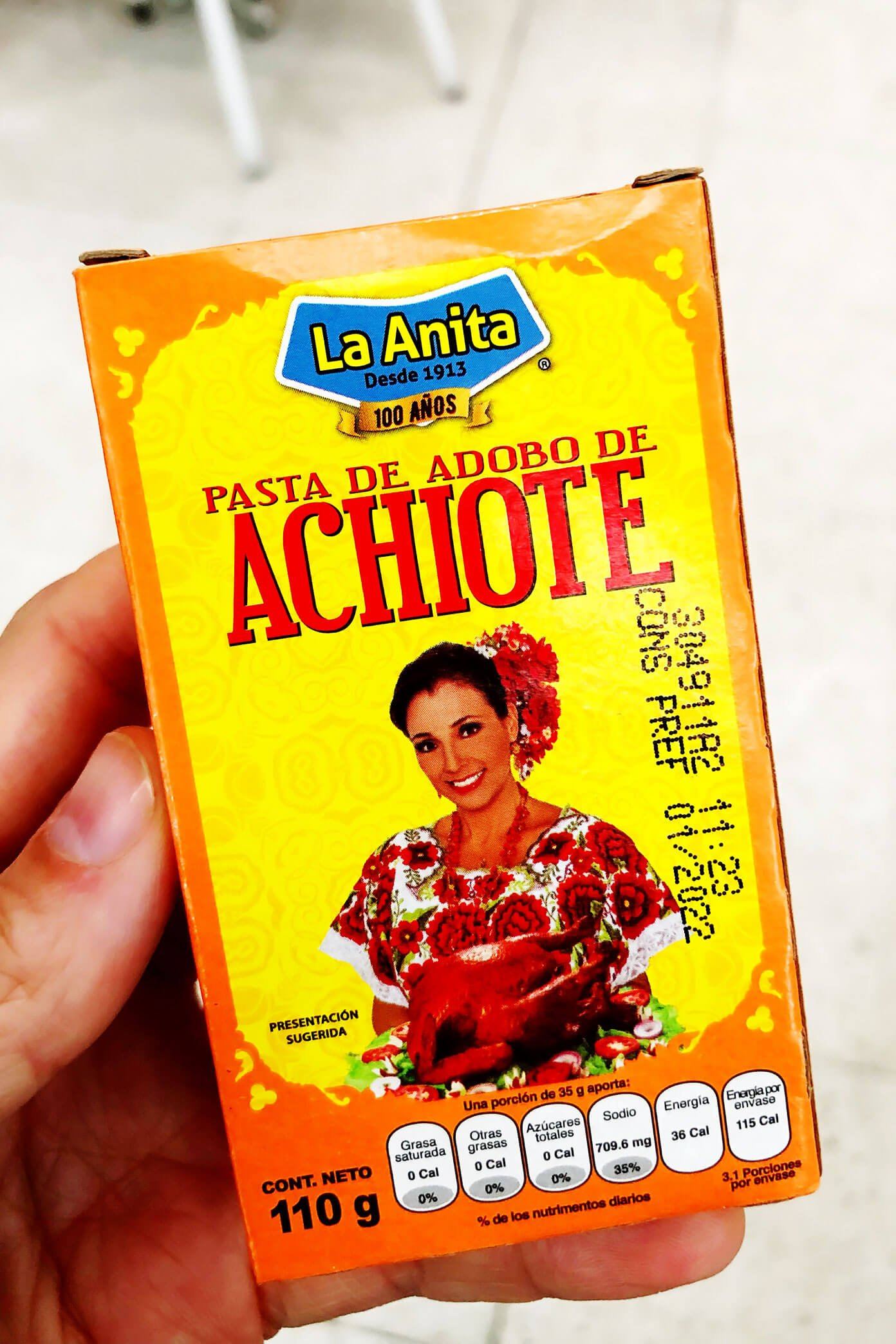 Mexico City Achiote