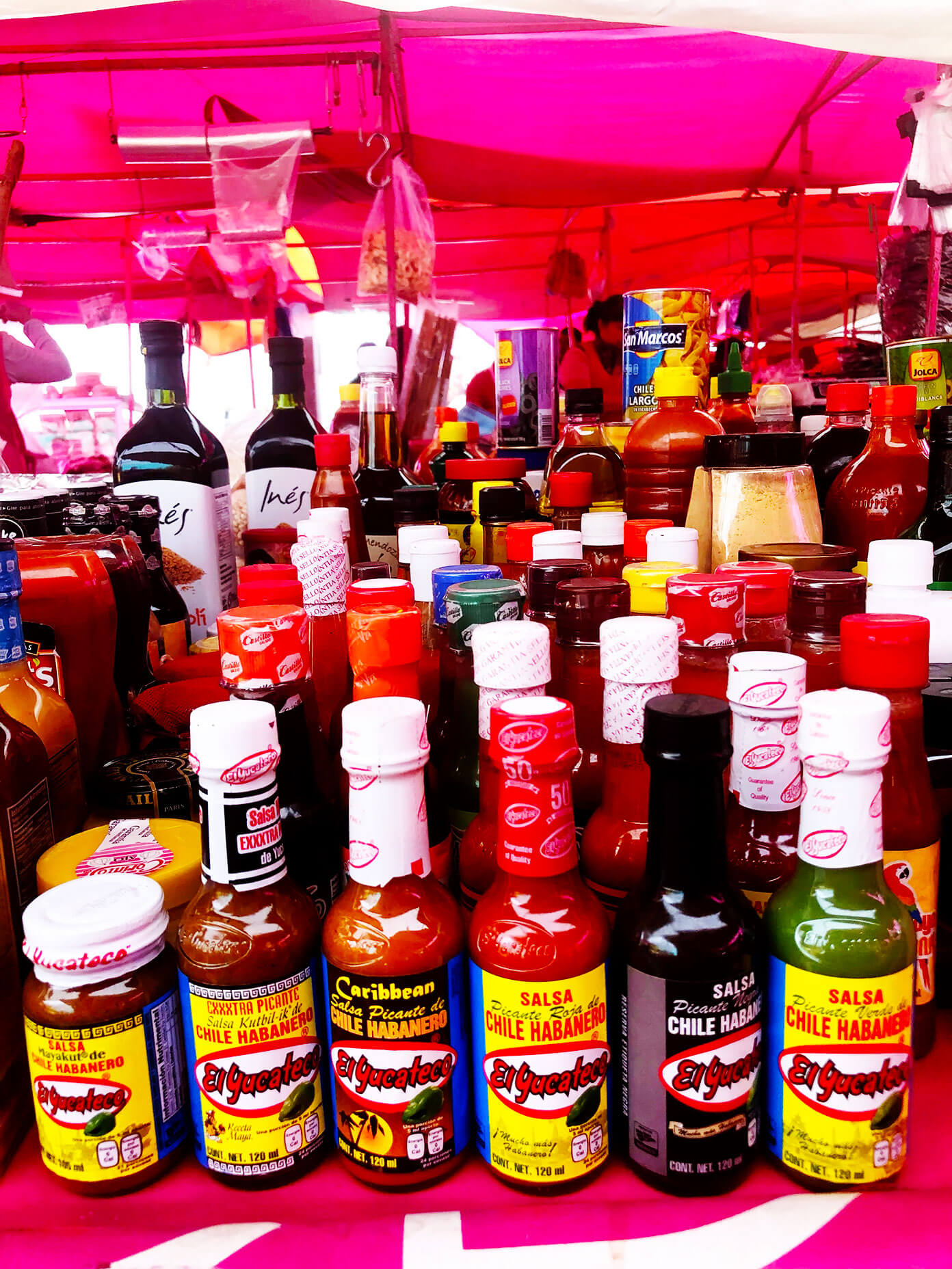 Market Hot Sauces