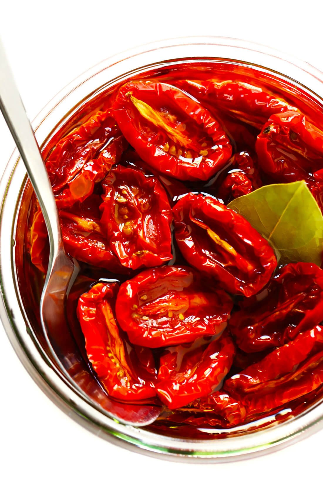 Homemade Sun-Dried Tomatoes in Olive Oil
