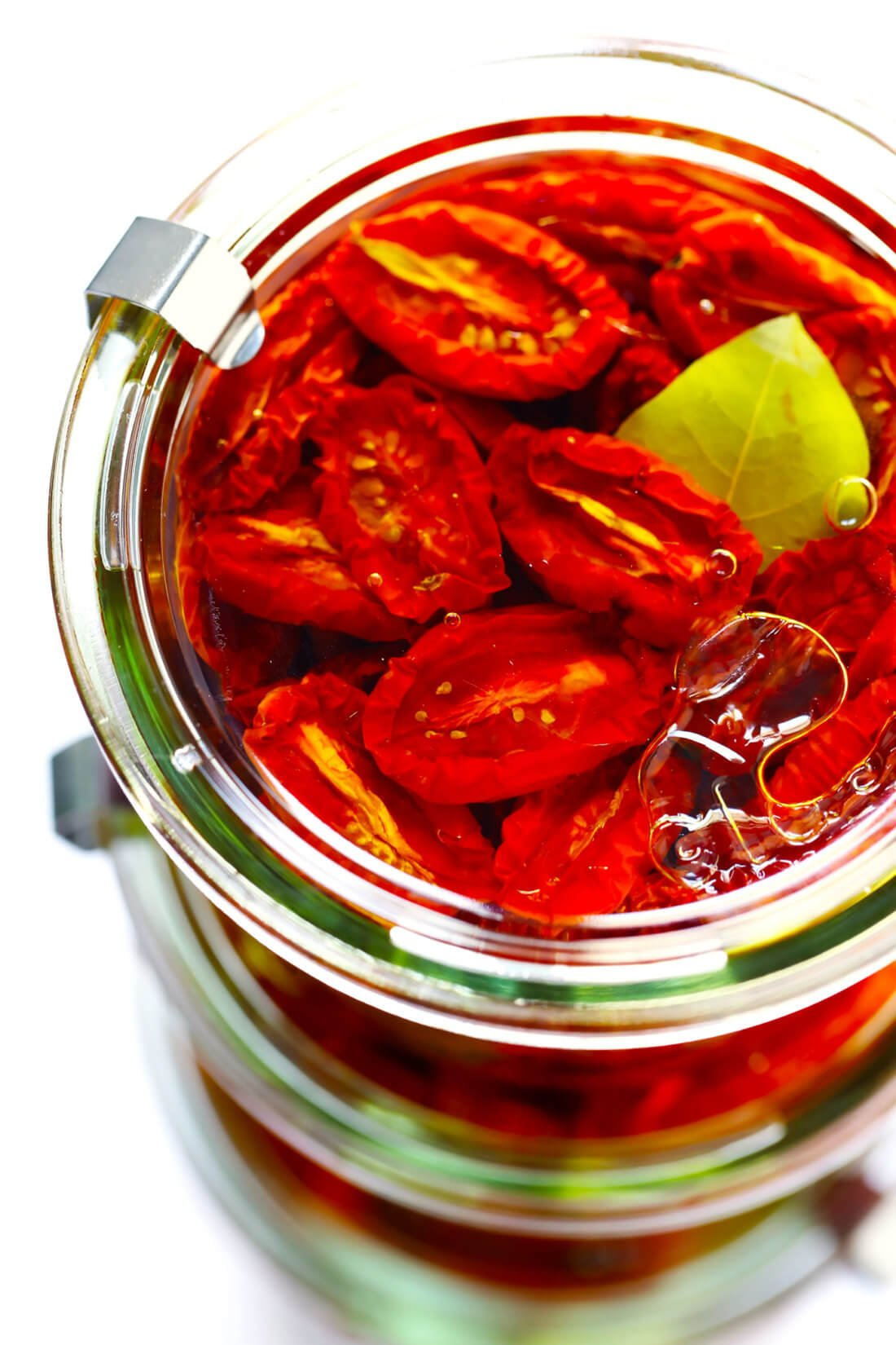 Sun-Dried Tomatoes in Weck Jars