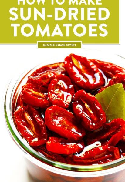 Oven Sun-Dried Tomatoes Recipe