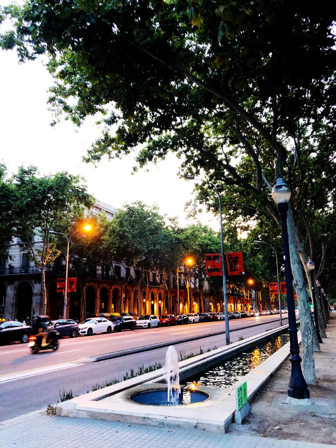 Passeig de Picasso Barcelona