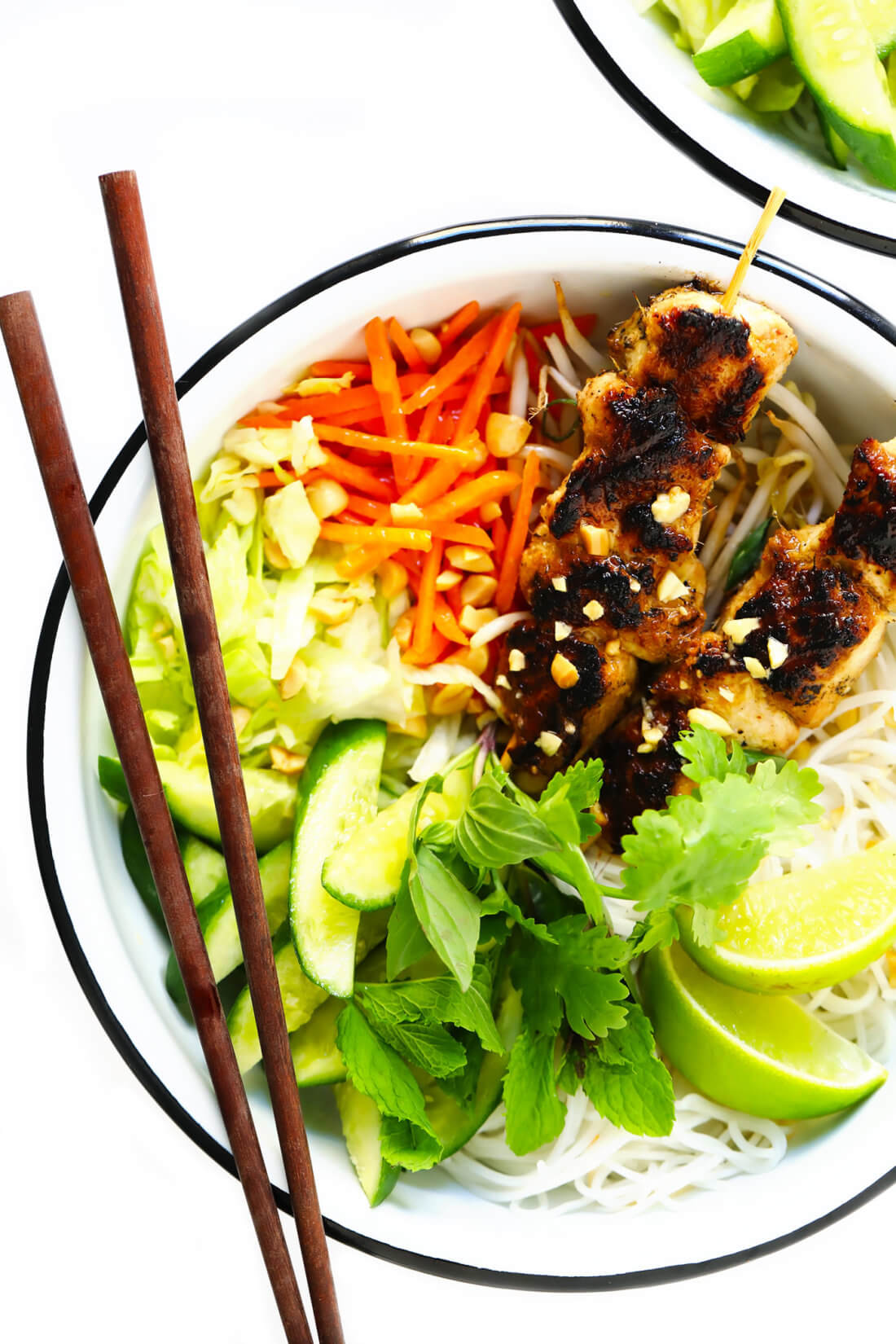 Vietnamese Chicken Noodle Bowls