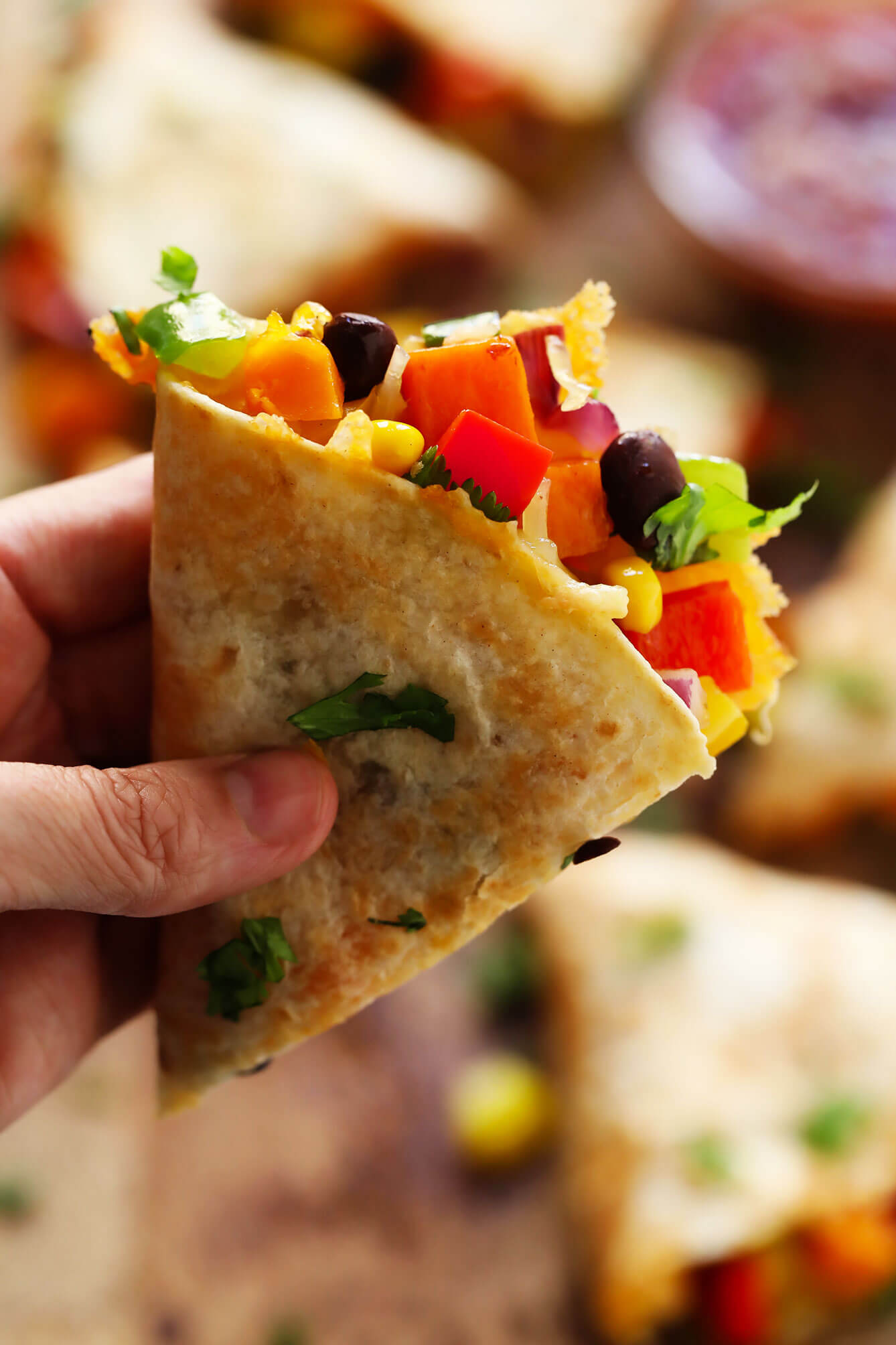 Easy Veggie Quesadillas Recipe Gimme Some Oven