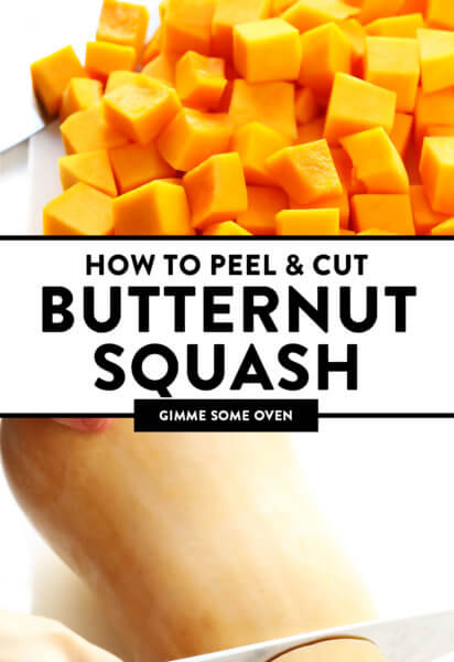 How To Peel and Cut Butternut Squash