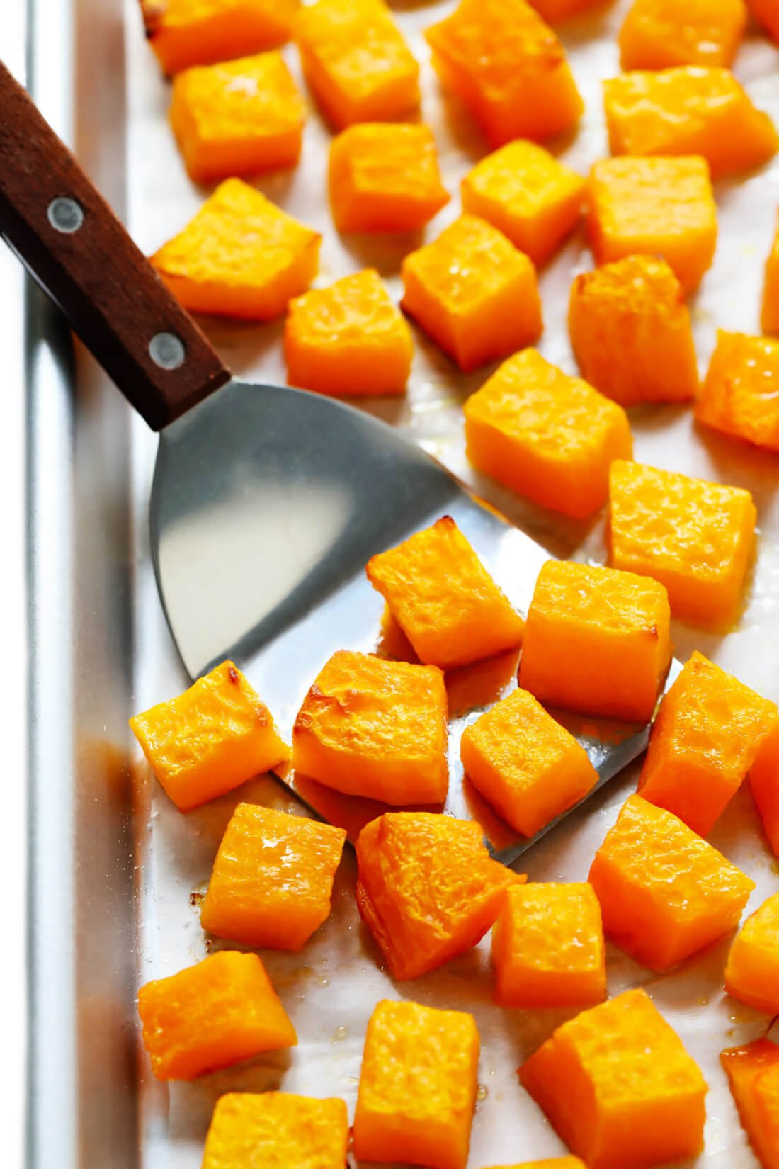 How To Roast Butternut Squash (Diced or Halved)