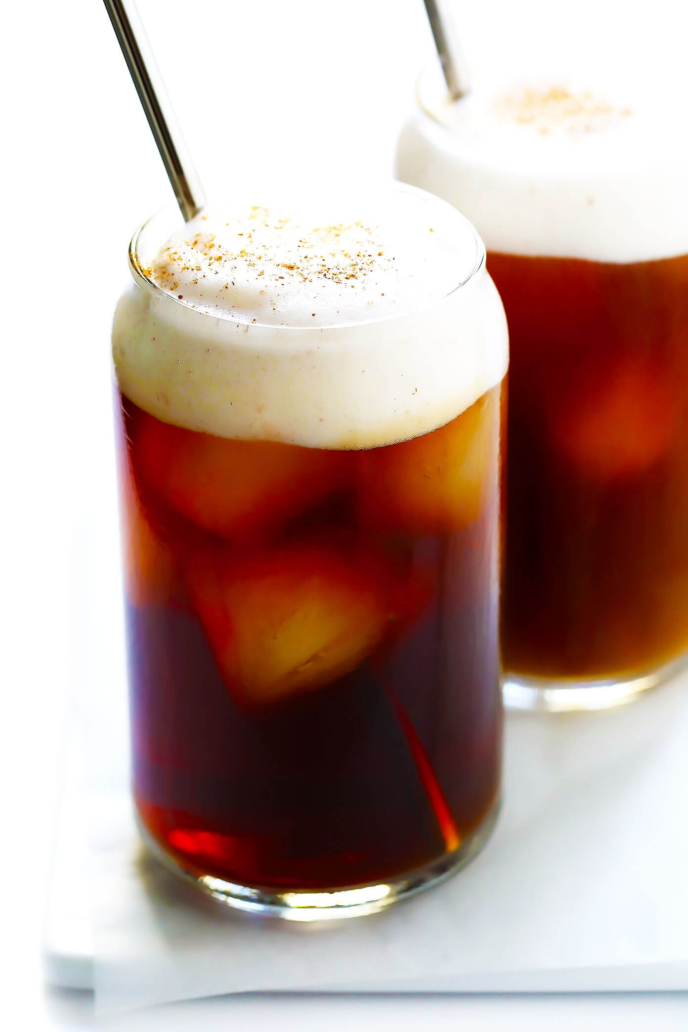 Pumpkin Cream Cold Brew Coffee (Starbucks Copycat)