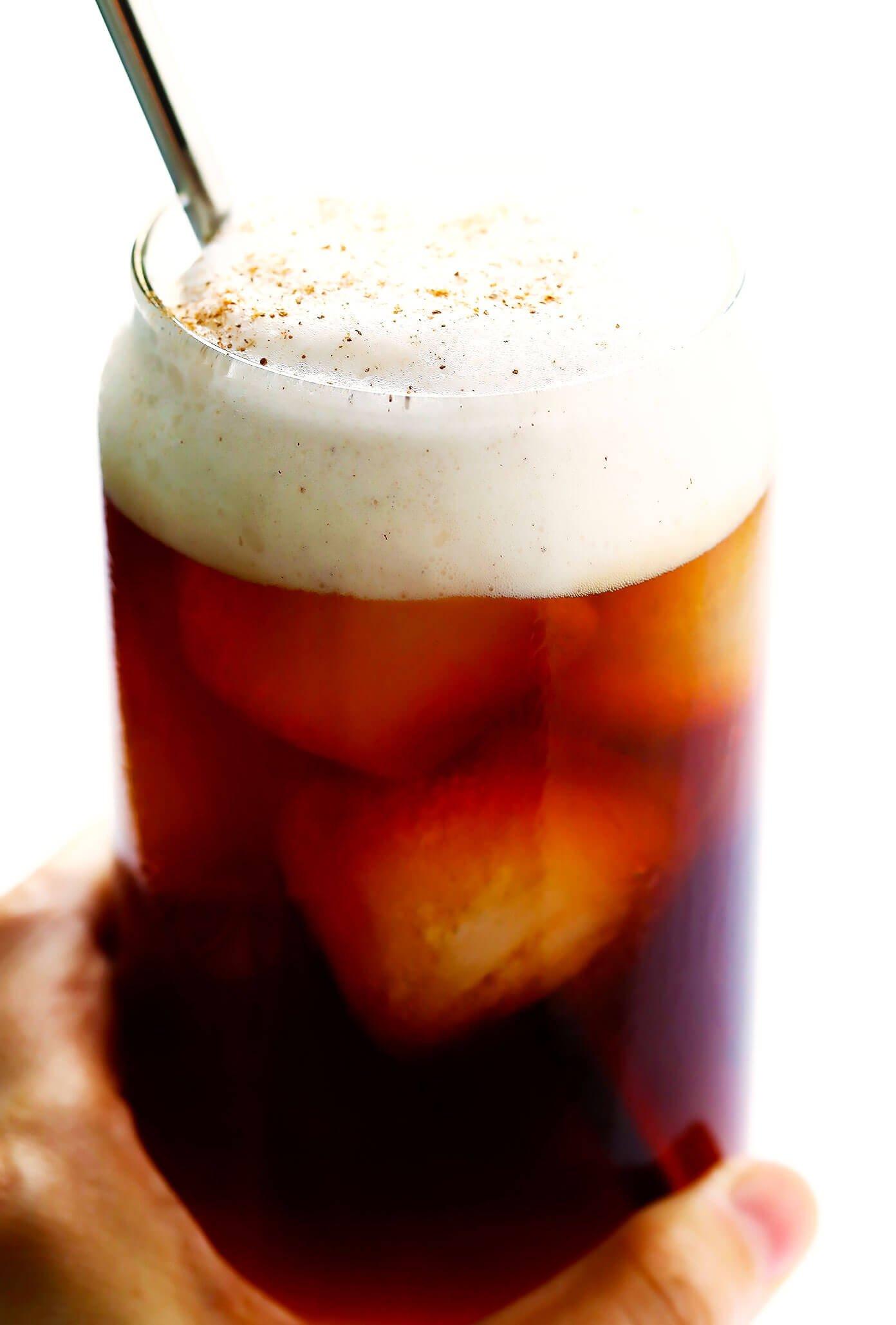 Pumpkin Iced Coffee (Starbucks Copycat)