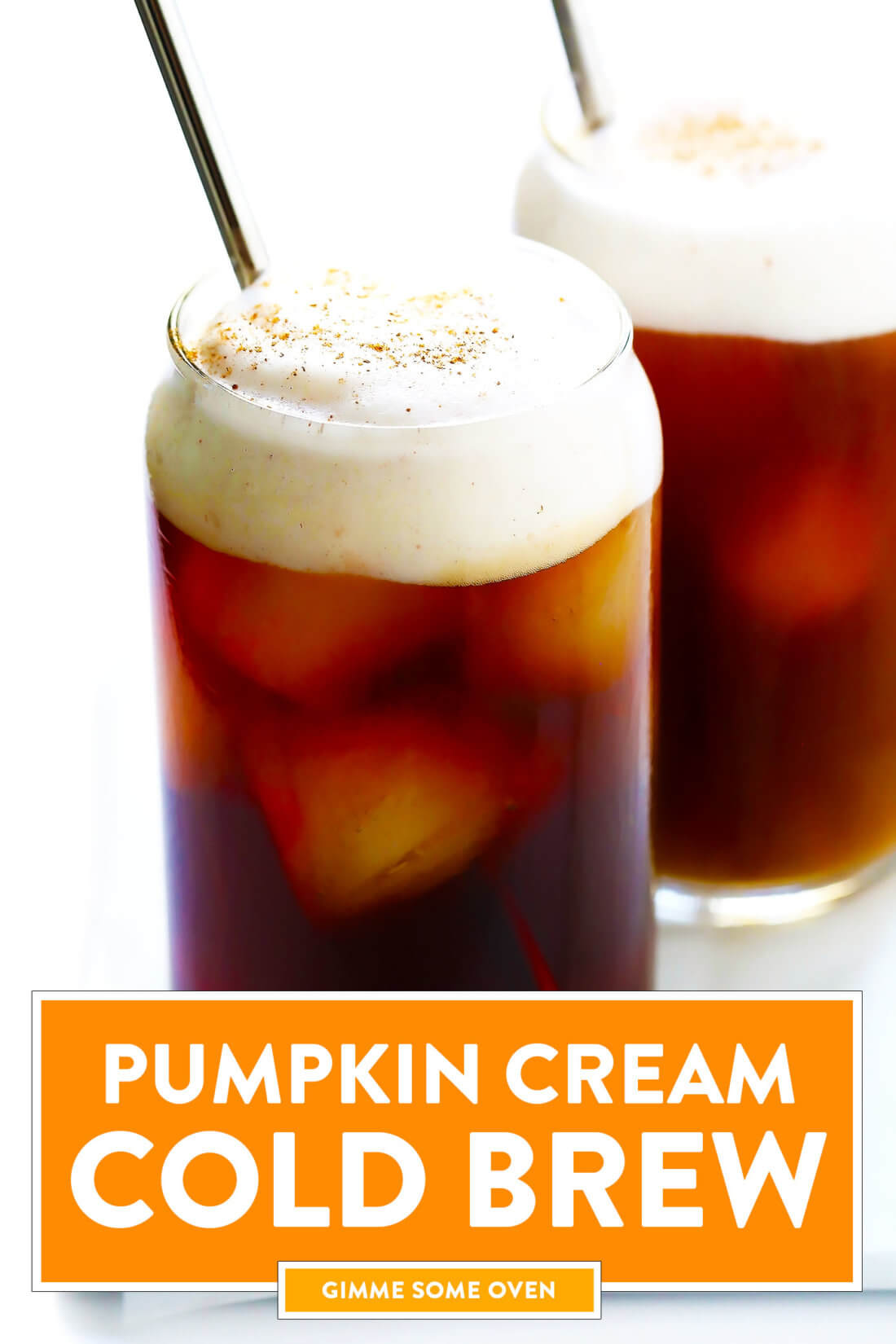 Pumpkin Cream Cold Brew Coffee