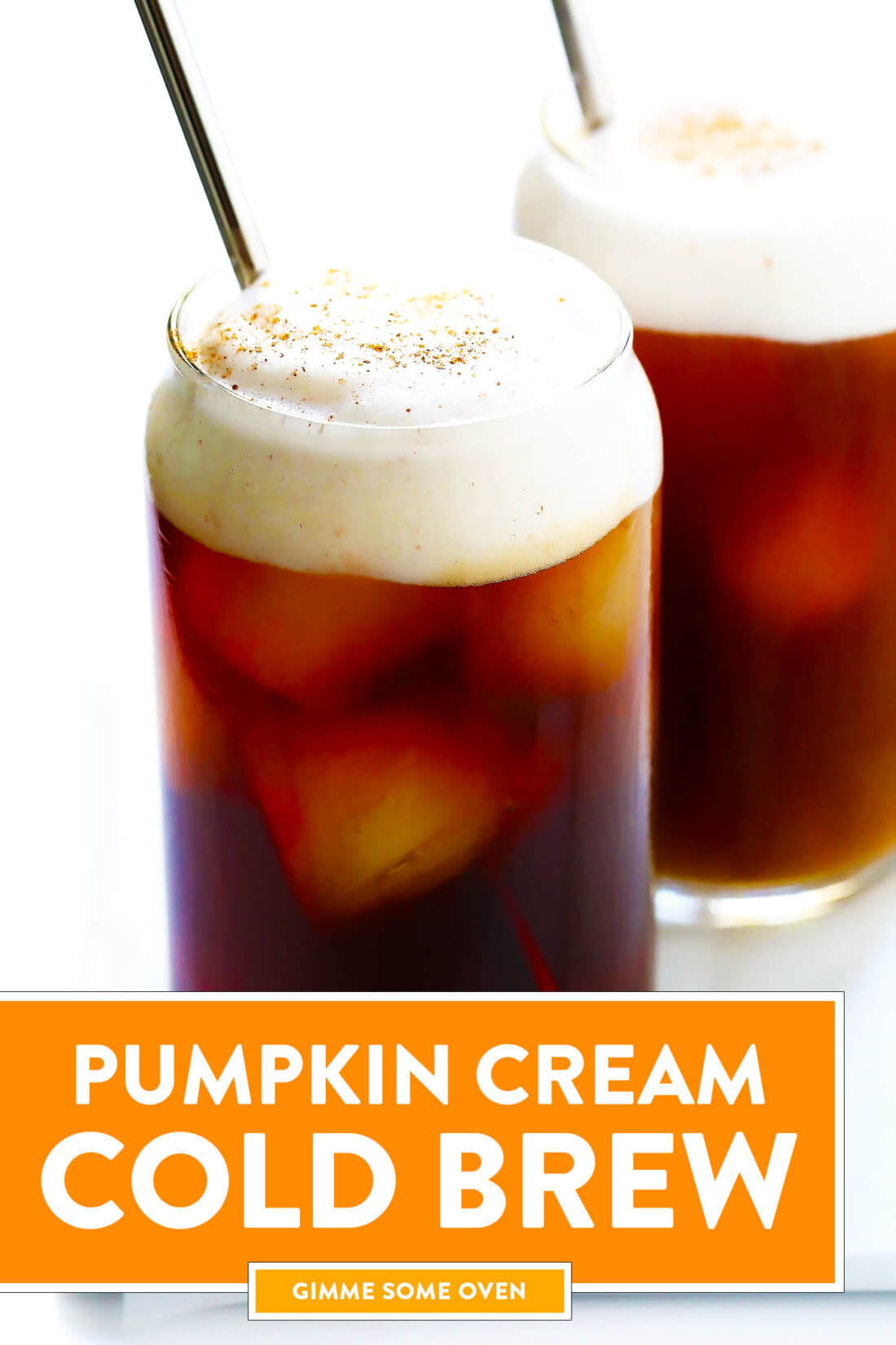Pumpkin Cream Cold Brew Recipe (Starbucks Copycat)