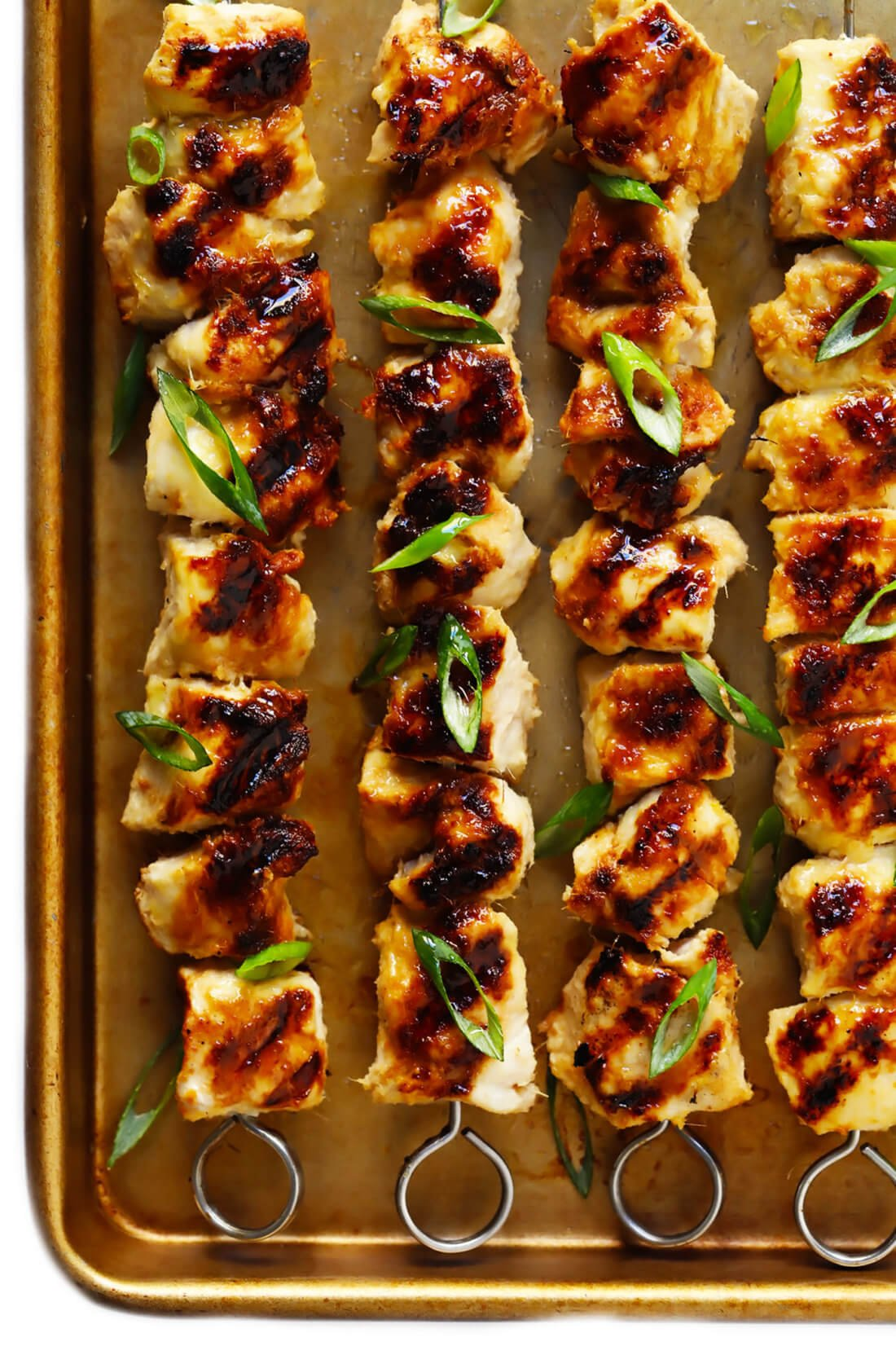 Vietnamese lemongrass chicken kabobs