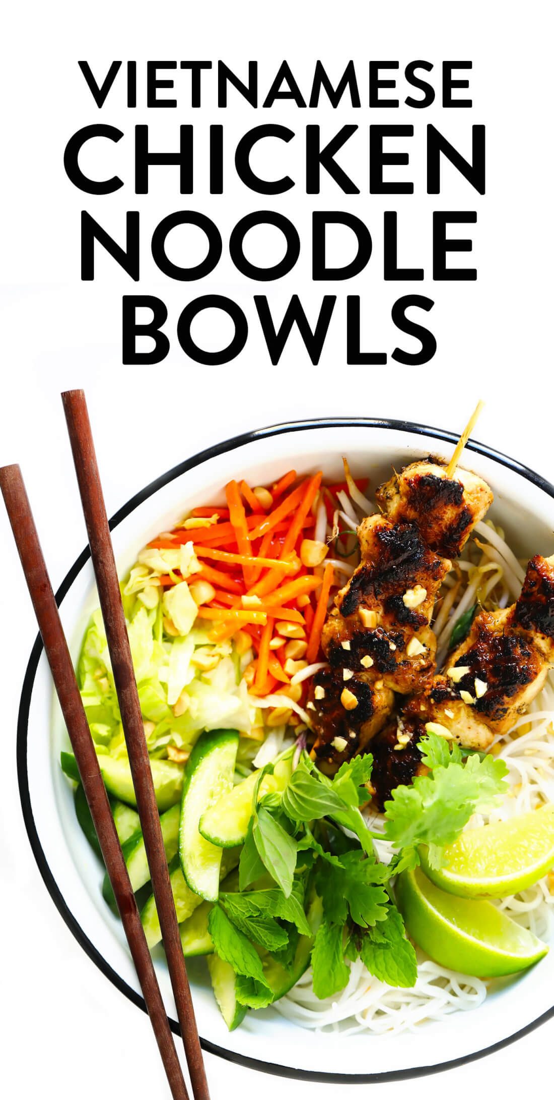 Vietnamese Chicken Noodle Bowl Recipe