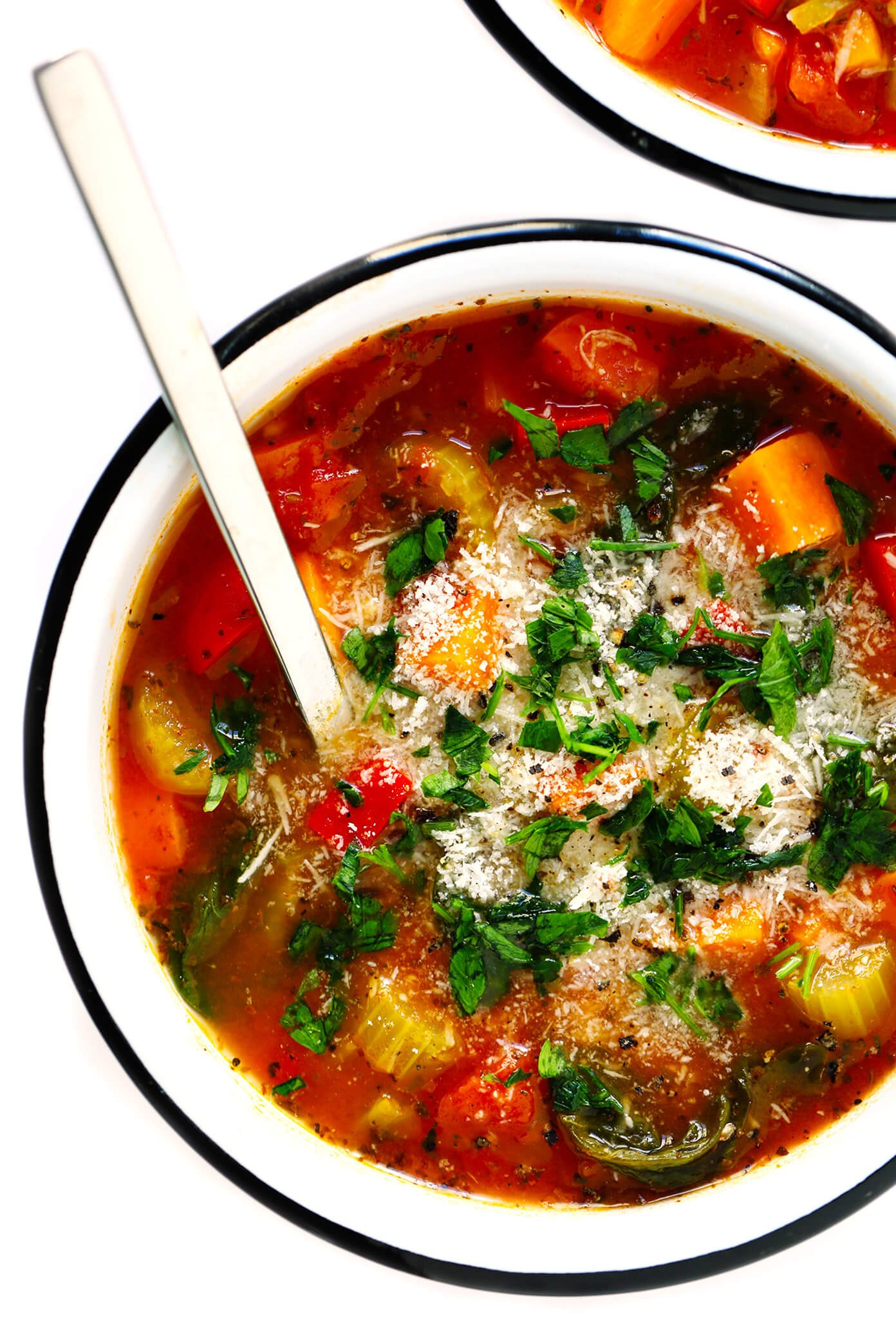My Favorite Vegetable Soup Recipe   Gimme Some Oven