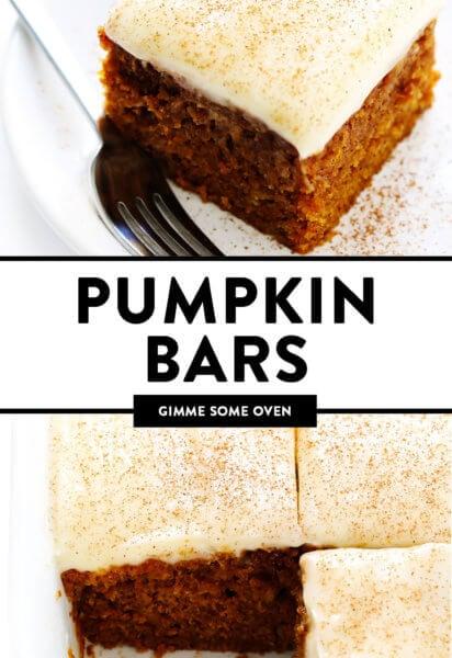 Pumpkin Bars