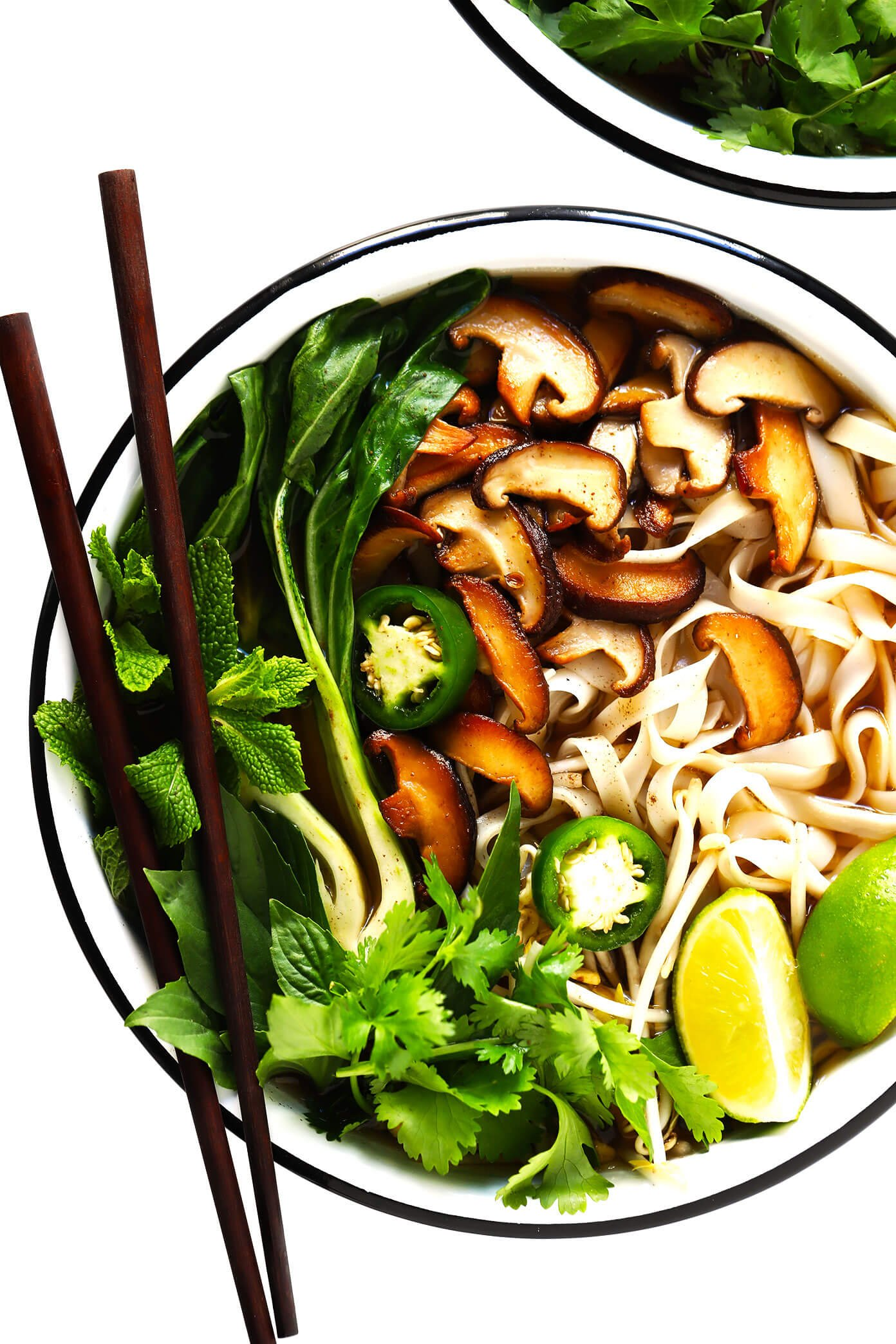 pho vegan recipe vegetarian soup easy noodle vietnamese oven noodles gimme some veggies gimmesomeoven recipes bowl tofu rice broth most