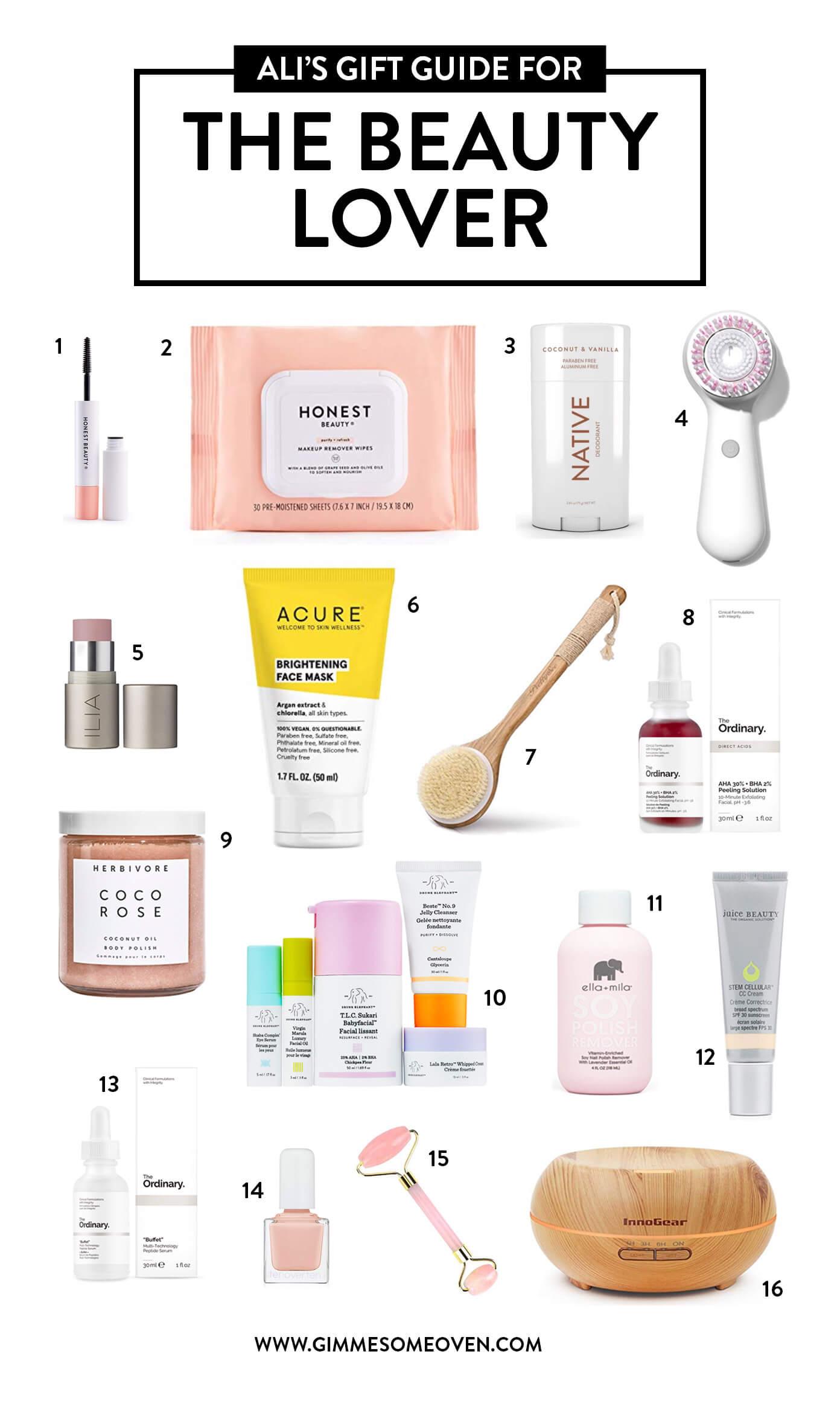 Beauty Lover Gift Guide