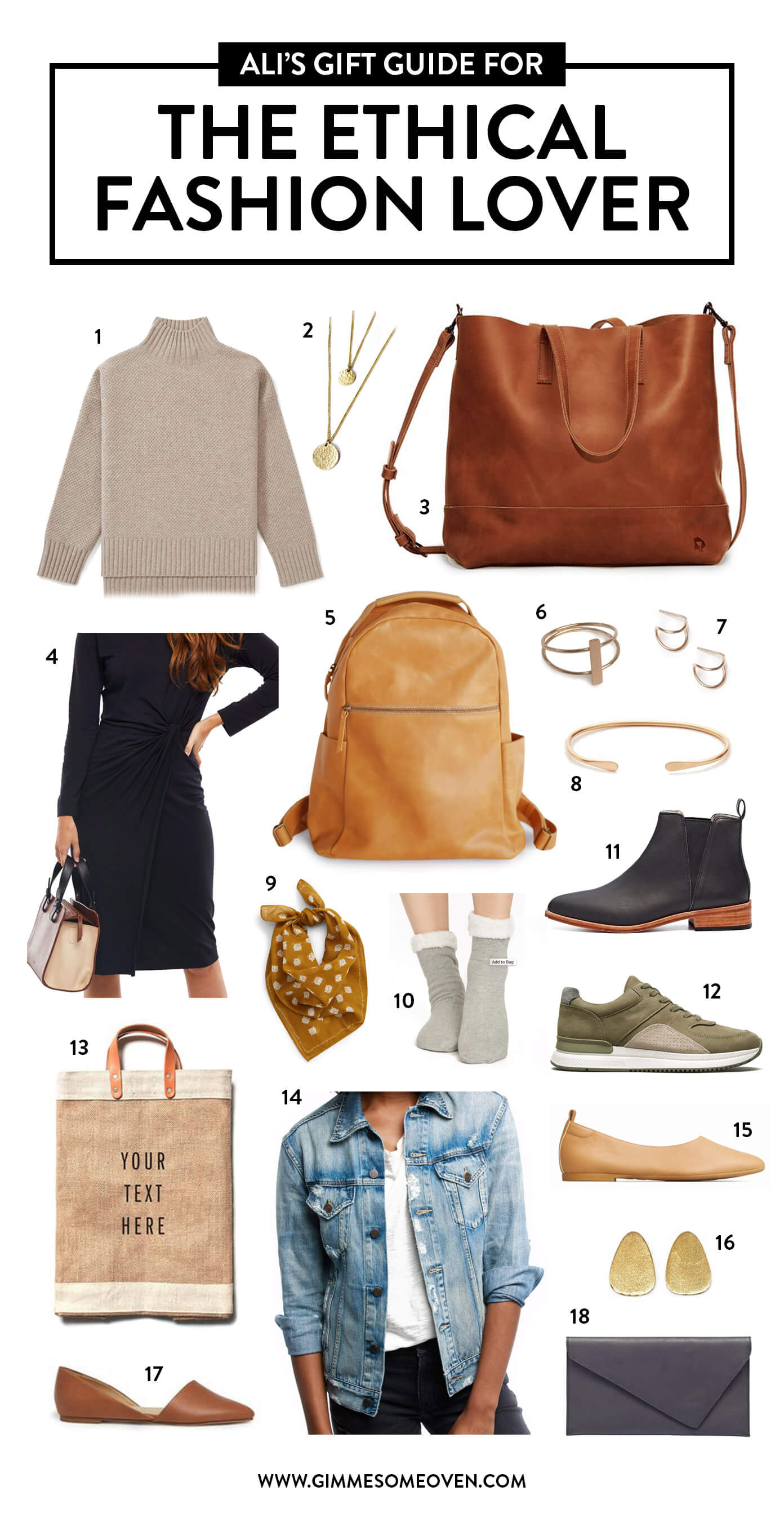 Gift Guide for the Ethical Fashion Lover