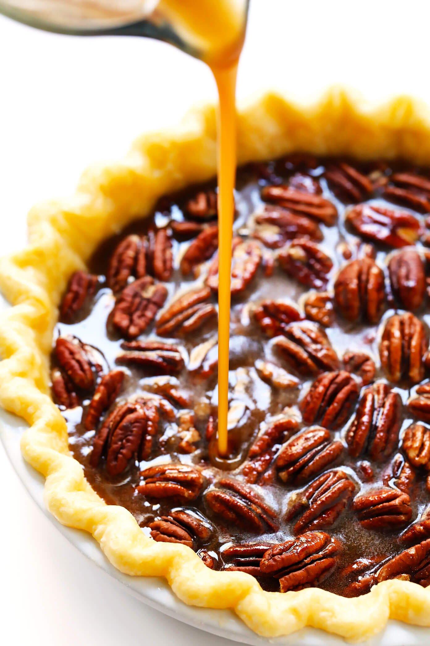 Homemade Pecan Pie Ingredients