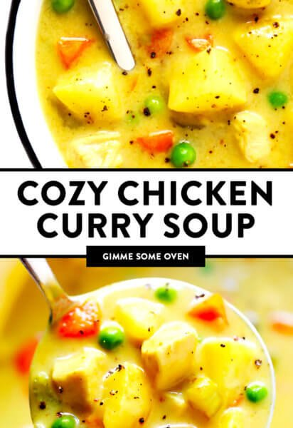 Cozy Chicken Curry Soup
