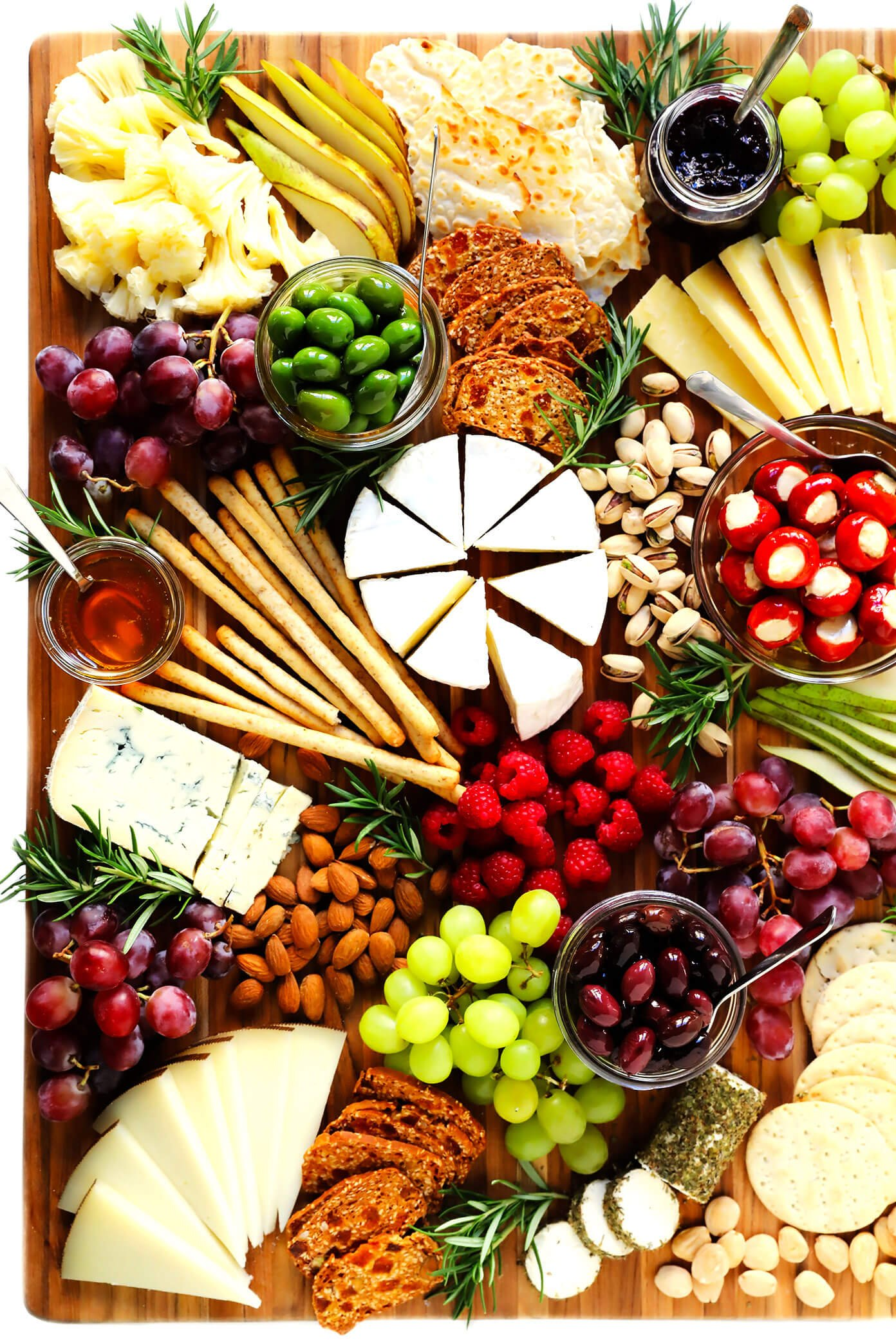 Thanksgiving Christmas Cheese Board