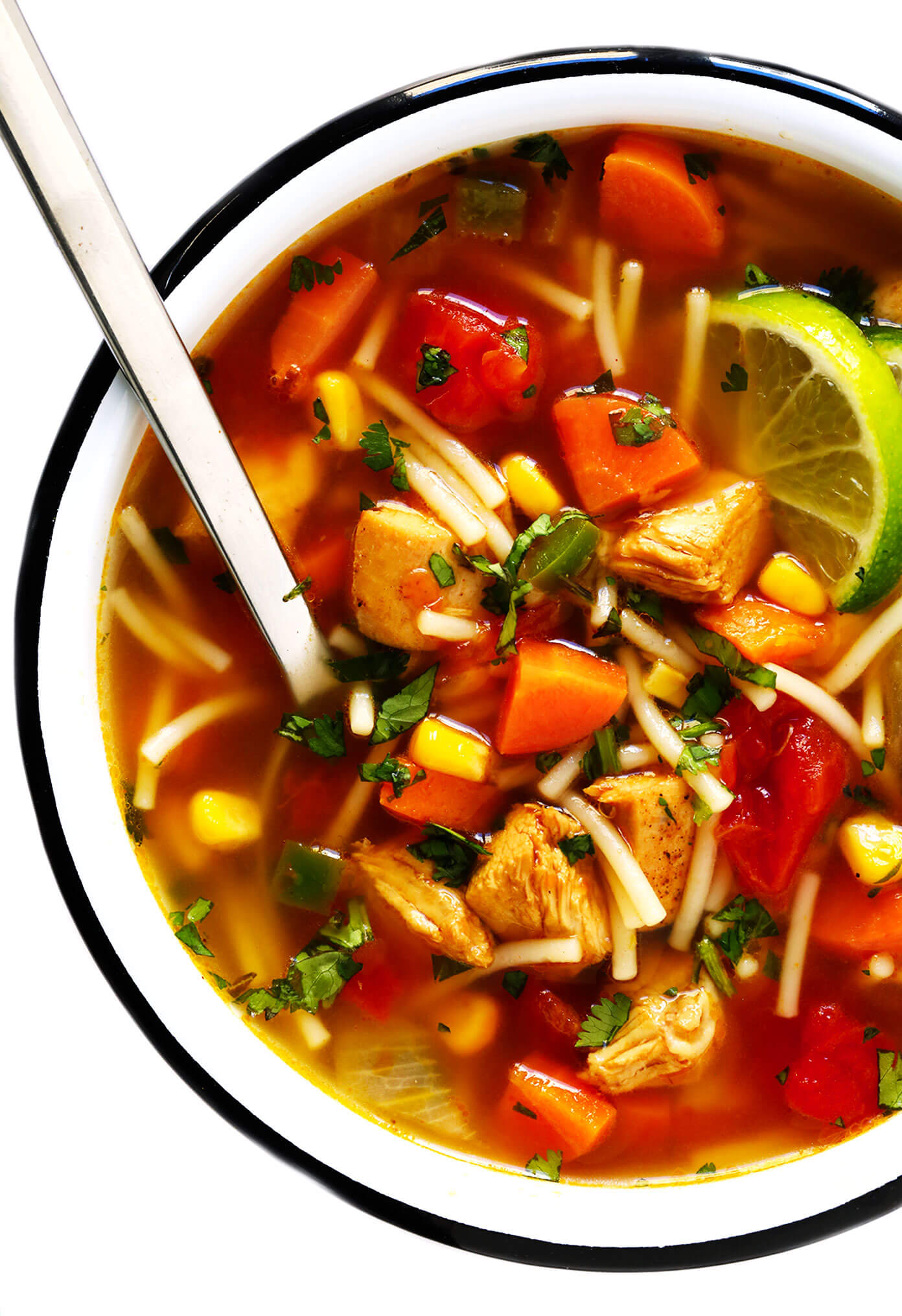 Mexican Chicken Noodle Soup Recipe Gimme Some Oven