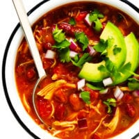 Easy Chicken Chili