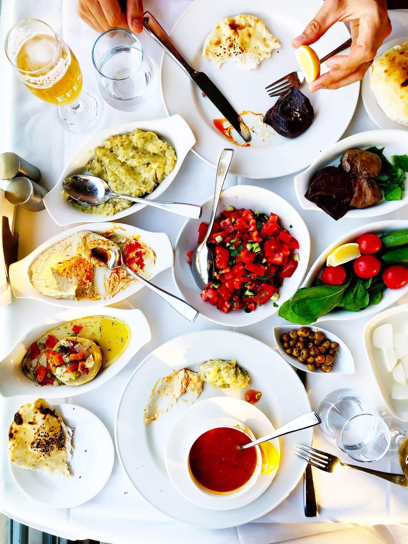 Hamdi Restaurant Eminonu Istanbul Turkey