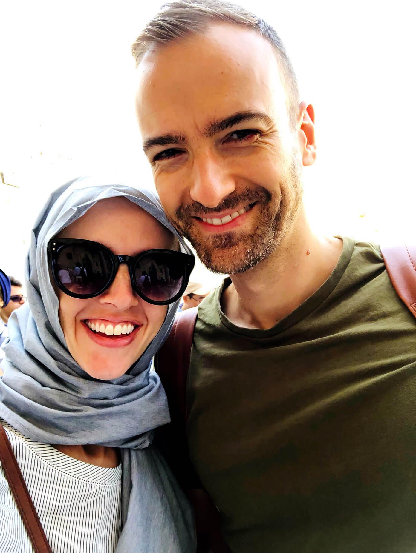 Blue Mosque Headscarf Istanbul