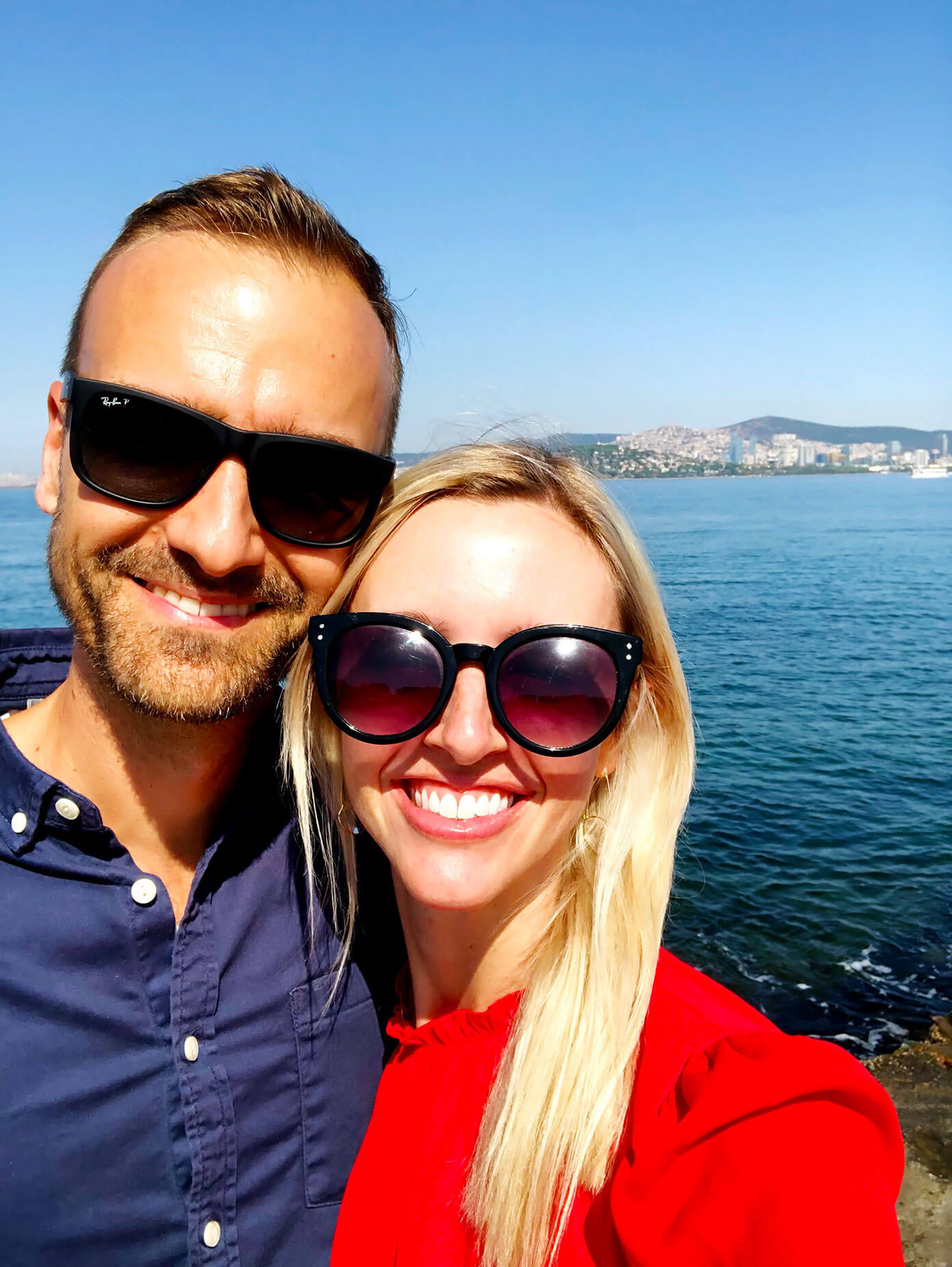 Ali Martin and Barclay Martin in Istanbul, Turkey