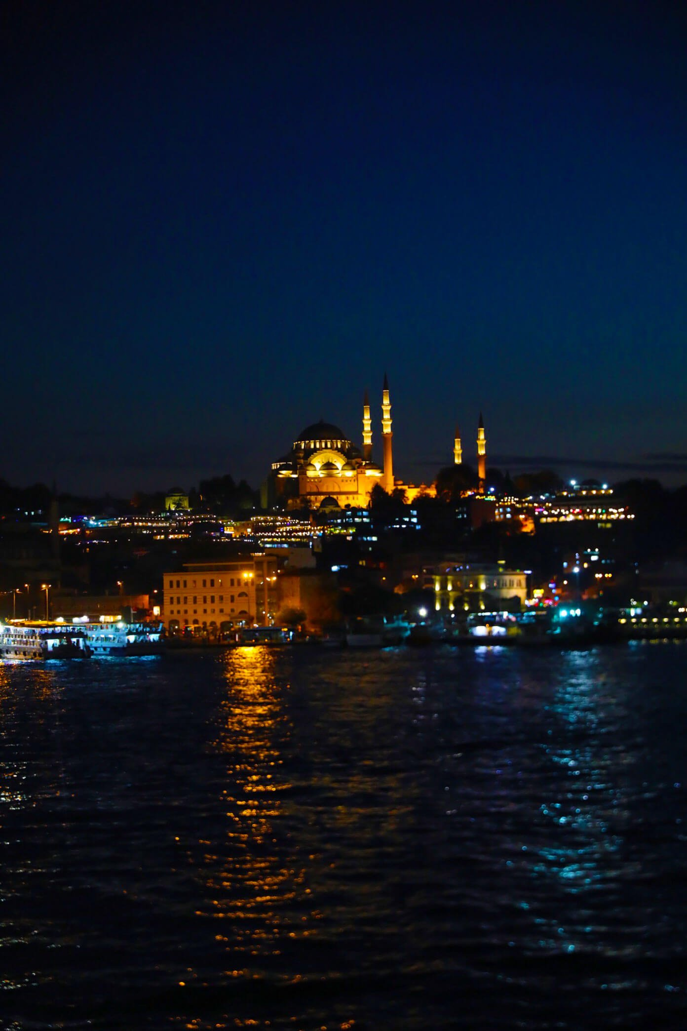 Istanbul and Night