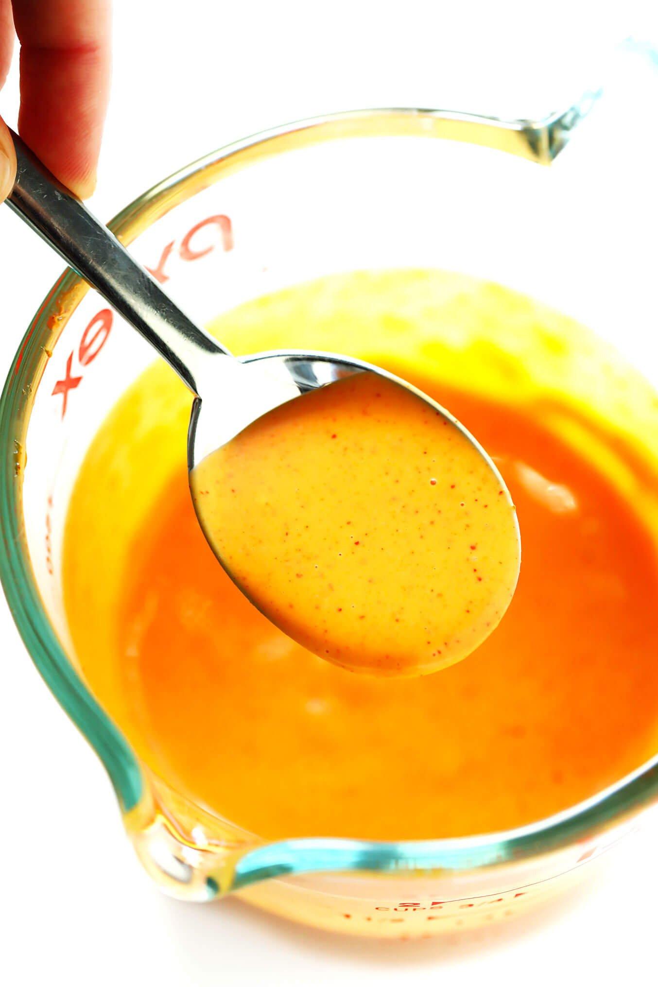 2-Ingredient Korean Creamy Gochujang Sauce
