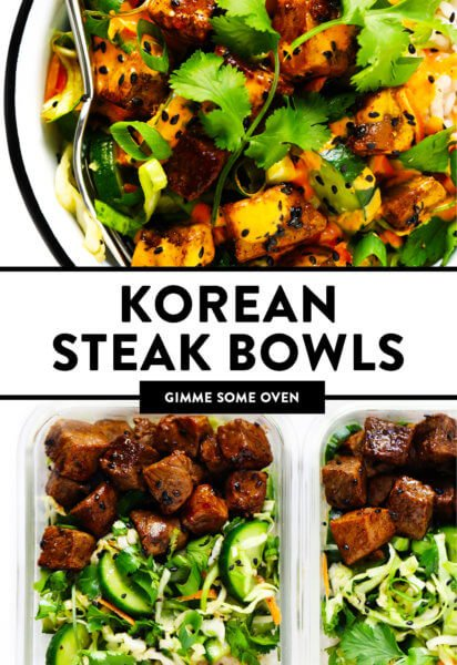 Korean Steak Bowls Recipe
