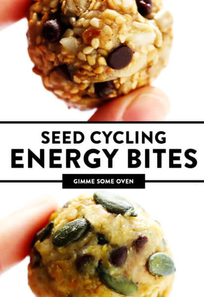 Seed Cycling Energy Bites