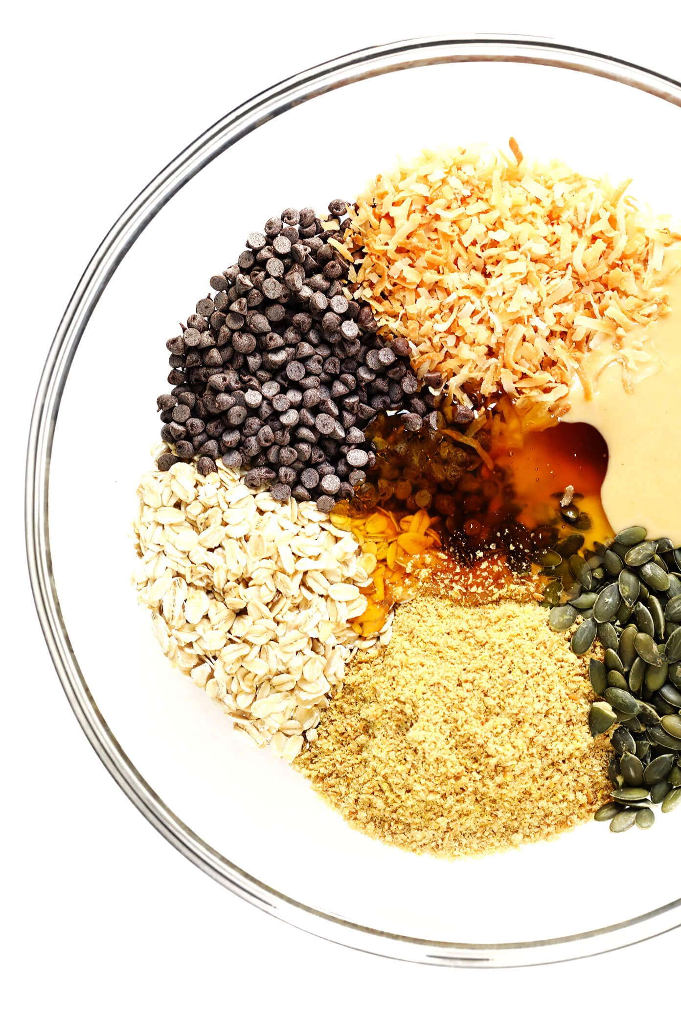 Seed Cycling Energy Bites Ingredients | Pepitas and Flax Seeds