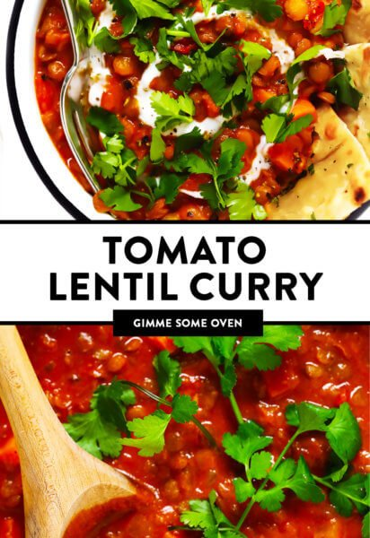 Tomato Lentil Curry Recipe
